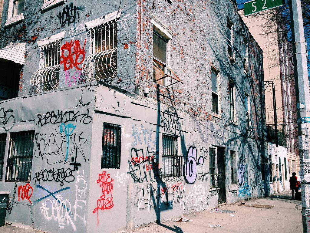 South 2nd Graffiti